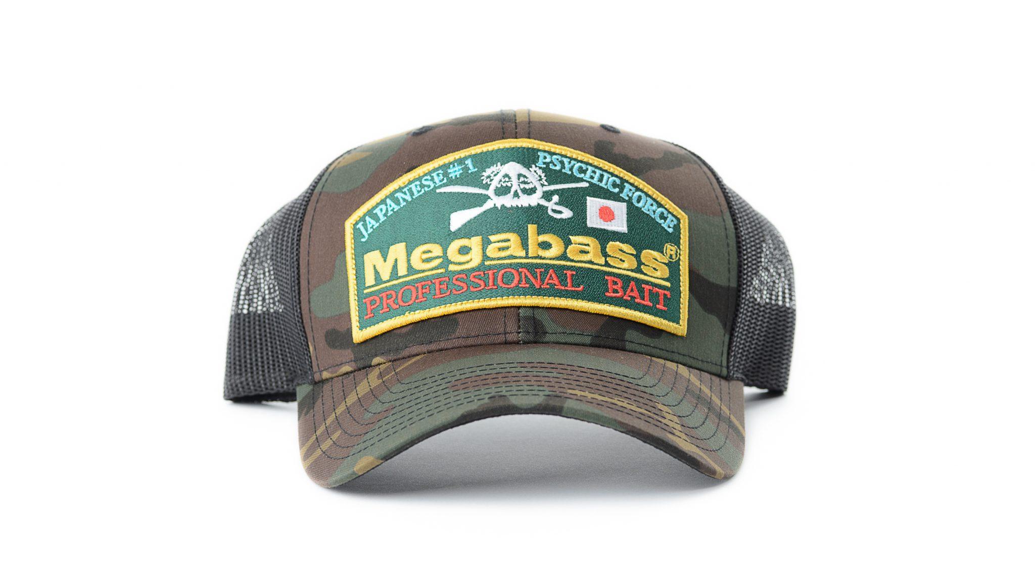 Megabass Throwback Snapback Hat