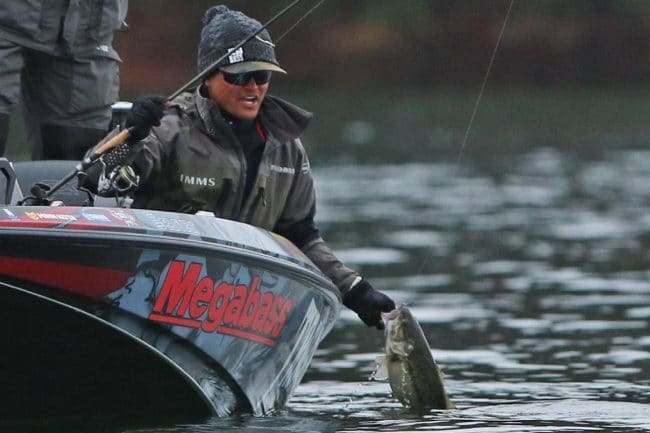 Zaldain Goes Deep for Swimbait Spots