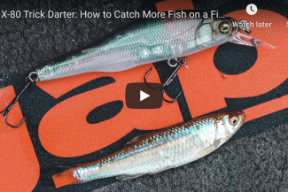 X-80 Trick Darter: How to Catch More Fish on a Finesse Jerkbait
