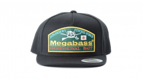 Megabass Throwback Snapback - Black