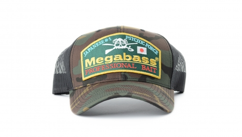 Megabass Throwback Trucker - Camo